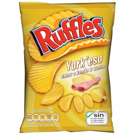 PATATAS FRITAS RUFFLES YORK´ESO 31 GRS.