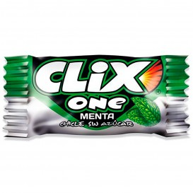 CHICLE CLIX ONE MENTA MONOPIEZA