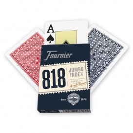 BARAJA POKER FOURNIER Nº 818 55 CARTAS