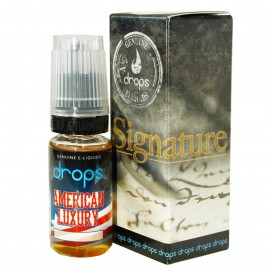 LÍQUIDO DROPS AMERICAN LUXURY 10ML. 0MG. NICOTINA