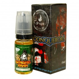 LÍQUIDO DROPS GENGHIS KHAN 10ML. 0MG. NICOTINA