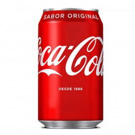 COCA-COLA REGULAR LATA 33 CC.