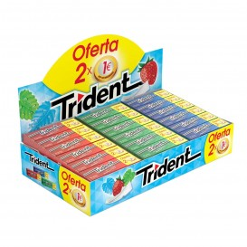 LOTE CHICLE TRIDENT LAMINA 2X1€