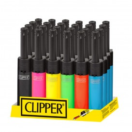 ENCENDEDOR MULTIUSOS CLIPPER MINI TUBE SHINY COLOURS