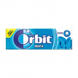CHICLE ORBIT GRAGEA MENTA