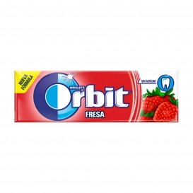 CHICLE ORBIT GRAGEA FRESA