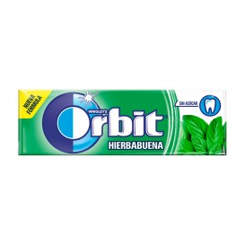 CHICLE ORBIT GRAGEA HIERBABUENA