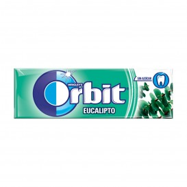 CHICLE ORBIT GRAGEA EUCALIPTO