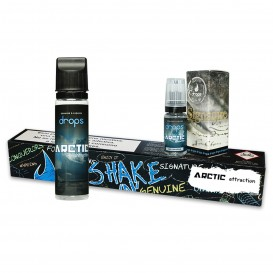 LÍQUIDO DROPS ARCTIC ATTRACTION SHAKE´N´VAPE 50ML.