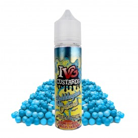 LÍQUIDO IVG BUBBLEGUM CUSTARD SHORTFILL 50ML. 0MG NICOTINA