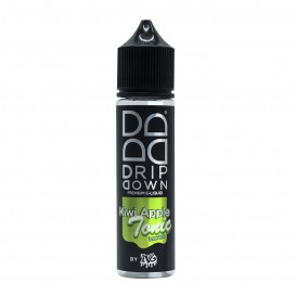 LÍQUIDO DRIP DOWN BY IVG KIWI APPLE TONIC SHORTFILL 50ML. 0MG NICOTINA