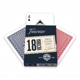 BARAJA POKER FOURNIER Nº 18 55 CARTAS