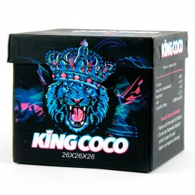 CARBÓN KING COCO 26 MM. 1 KG.