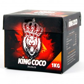 CARBÓN KING COCO 28 MM. 1 KG.