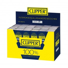 BOQUILLA CIGARRILLO CLIPPER REGULAR, CAJITA 10 BOQUILLAS