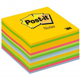 CUBO NOTAS POST-IT 76*76 COLORES ULTRA