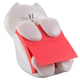 DISPENSADOR POST-IT GATO