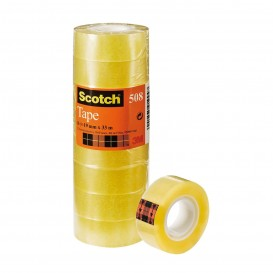 CINTA TRANSPARENTE SCOTCH 19 x 33M