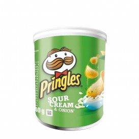 PATATAS PRINGLES SOUR CREAM & ONION 40 GRS.