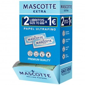 MASCOTTE EXTRA THIN REGULAR, 2 LIBRITOS POR 1€