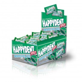 CHICLE HAPPYDENT HIERBABUENA MONOPIEZA