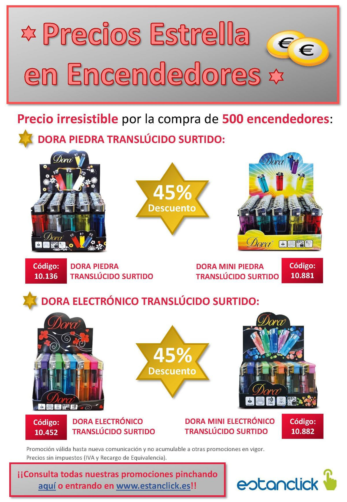 Promo Encendedores